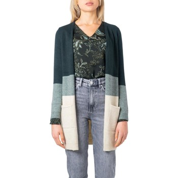 Clothing Women Jackets / Cardigans Only Women's Cardigan In Green 25