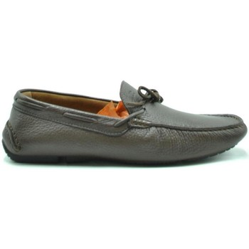 Shoes Men Loafers Fratelli Rossetti Men's Moccas Brown