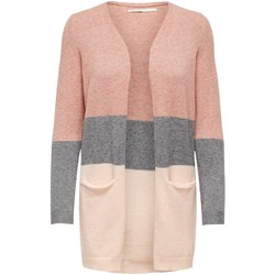 Clothing Women Jackets / Cardigans Only Women's Cardigan In Pink pink