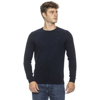 Clothing Men Jumpers Conte Of Florence Men's Knitwe Blue