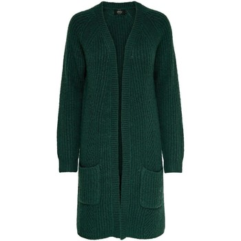 Clothing Women Jackets / Cardigans Only Women's Cardigan In Green Green