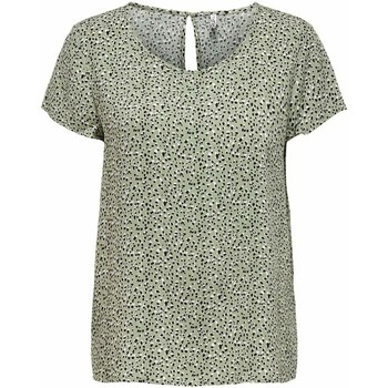 Clothing Women Tops / Blouses Only Women's Blouse In Green 25