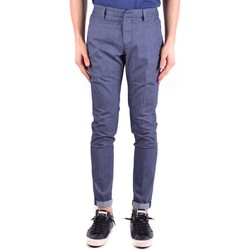 Clothing Men Chinos Dondup Men's Trousers In Blue 19
