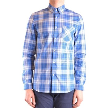 Clothing Men Long-sleeved shirts Fred Perry Men's Shirt In Mult 594