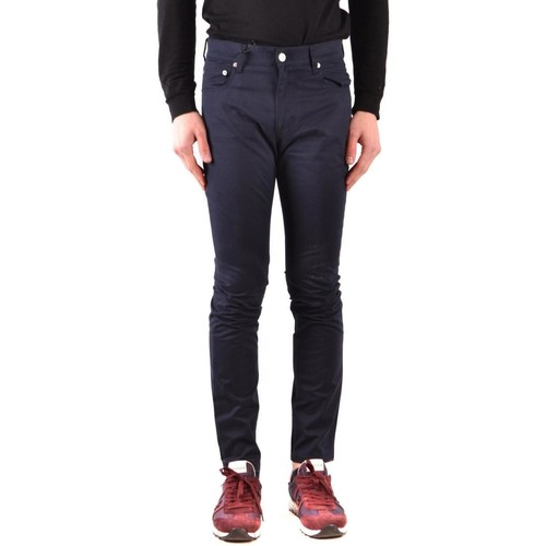 Clothing Men Slim jeans Moschino Men's Jeans In Blue