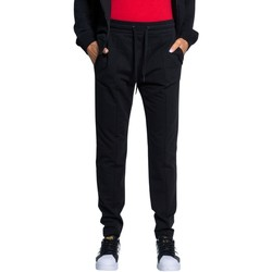 Clothing Women Tracksuit bottoms Love Moschino Women's Trousers Black
