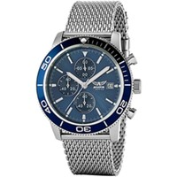 Watches & Jewellery  Men Analogue watches Aviator Silver Men Watches Silver