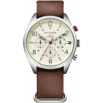 Watches & Jewellery  Men Analogue watches Tommy Hilfiger Silver Men Watc 46