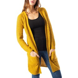 Clothing Women Jackets / Cardigans Only Women's Cardigan In Gold 41