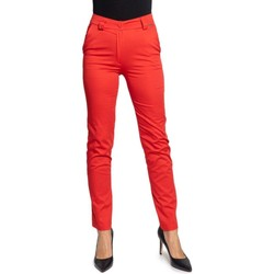 Clothing Women Chinos Ak Women's Trousers In Red 8