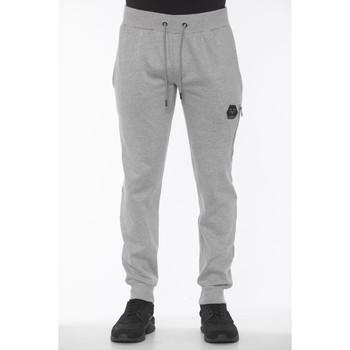 Clothing Men Tracksuit bottoms 19V69 Italia Grich Lt Grey Jea Gray