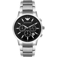 Watches & Jewellery  Men Analogue watches Armani Two-Hand Stainl Black