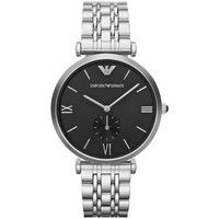 Watches & Jewellery  Men Analogue watches Armani Gianni T-Bar An Silver