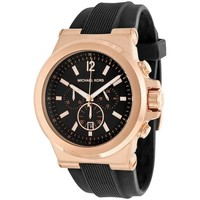 Watches & Jewellery  Men Analogue watches MICHAEL Michael Kors Dylan Chronograph Rose Gold