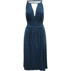 Clothing Women Long Dresses Marc by Marc Jacobs Navy Blue Blue