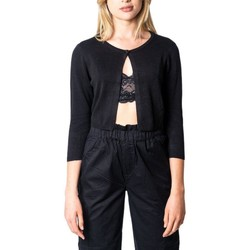 Clothing Women Jackets / Cardigans Only Women's Cardigan In Black 38
