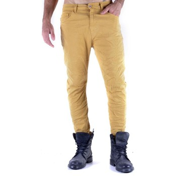 Clothing Men 5-pocket trousers 525 Men's Trousers In Yellow Yellow