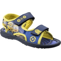 Shoes Boy Outdoor sandals Leomil DE003660 Minions Blue and Yellow