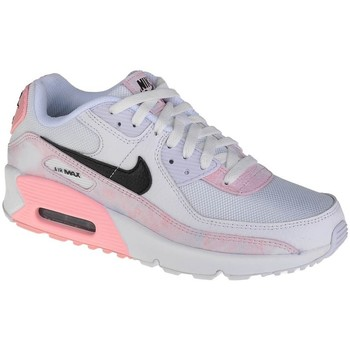 Shoes Children Low top trainers Nike Air Max 90 GS White