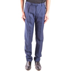 Clothing Men Trousers Incotex Men's Trousers In Blue 19