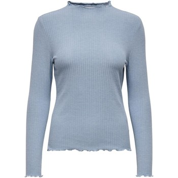 Clothing Women Jumpers Only Women's T-Shirt In Blue 19