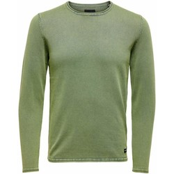Clothing Men Jumpers Only & Sons  Men's Knitwear In Green