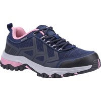 Shoes Women Walking shoes Cotswold Wychwood Low Navy and Pink