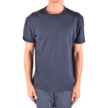 Clothing Men Short-sleeved t-shirts Paolo Pecora Men's T-Shirt In Blue
