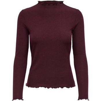 Clothing Women Jumpers Only Women's T-Shirt In Bordea 7136