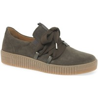 Shoes Women Low top trainers Gabor Waltz Womens Casual Trainers green