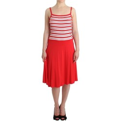 Clothing Women Short Dresses Rocco Barocco Red striped jerse 8