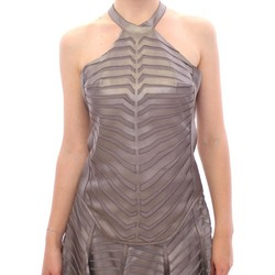 Clothing Women Tops / Blouses Arzu Kaprol Silver Leather Str 46