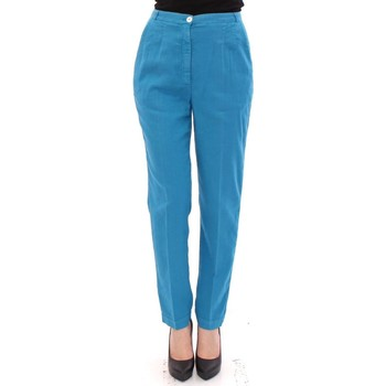 Clothing Women Chinos D&G Blue Cotton Lo 19
