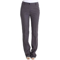 Clothing Women Chinos Ermanno Scervino Purple Wool S 15