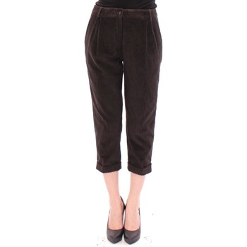 Clothing Women Cropped trousers D&G Brown Cotton C 28