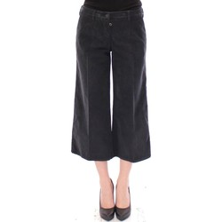Clothing Women Cropped trousers D&G Blue Cotton Co 19