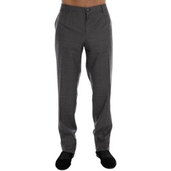 Clothing Men Formal trousers D&G Gray Wool Dres 35
