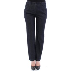 Clothing Women Chinos D&G Blue Cotton Re 19