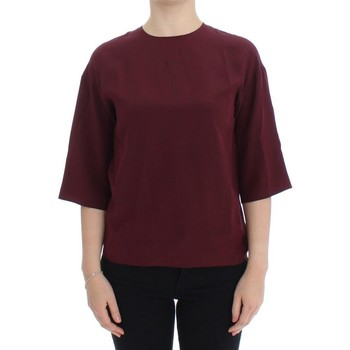 Clothing Women Tops / Blouses D&G Red 3/4 sleeve 8