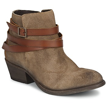 Shoes Women Ankle boots Hudson HORRIGAN Beige