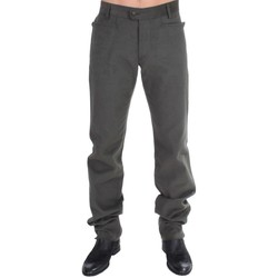 Clothing Men Trousers Roberto Cavalli Green straight fit pan 25
