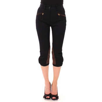 Clothing Women Cropped trousers D&G Blue Cotton Ca 19