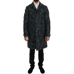 Clothing Men Trench coats D&G Blue Camouflag 19