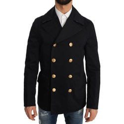 Clothing Men Coats D&G Trench Blue Co 19
