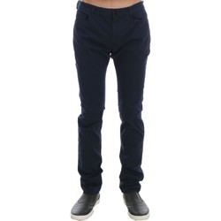 Clothing Men Chinos Costume National Blue Cotton S 19