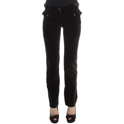 Clothing Women Chinos Ermanno Scervino Brown Cotton 28