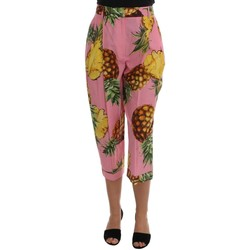 Clothing Women Cropped trousers D&G Multicolor Pin 594