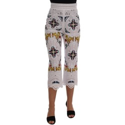 Clothing Women Cropped trousers D&G Mulicolor Majo 594