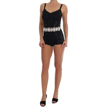 Clothing Women Jumpsuits / Dungarees D&G Black Crystal 38