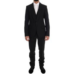 Clothing Men Suits D&G Black Wool One 38